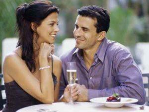 первое свидание - важная точка отношений