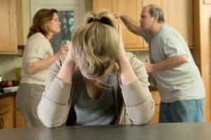 Дочь в семье алкоголиков
