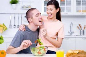 Вкусный салат для мужа