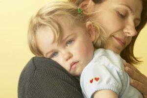 Мать переживает за дочку