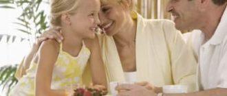 Счастливые родители счастливой девочки