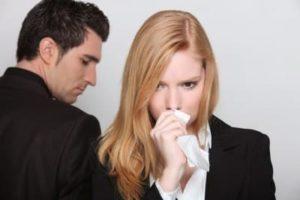 После тяжелого разговора с мужем