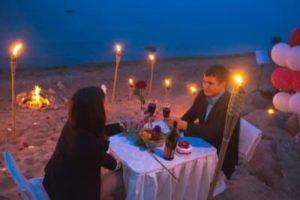 Пикник на берегу моря