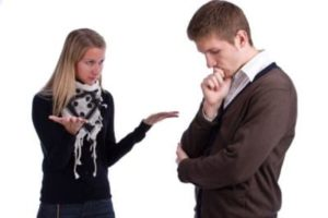 Собеседник уклоняется от общения
