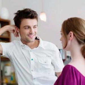 Разговор между парнем и девушкой