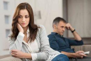 Плохие отношения между мужем и женой