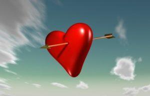 Сердце, пронзенное стрелой