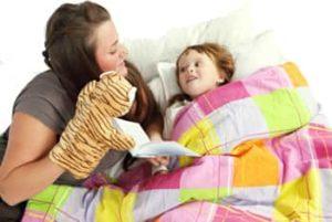 поиграть с ребенком перед сном