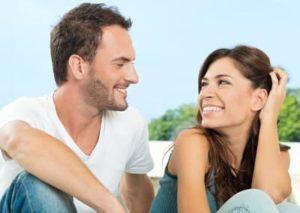 влюбленные мужчина и женщин