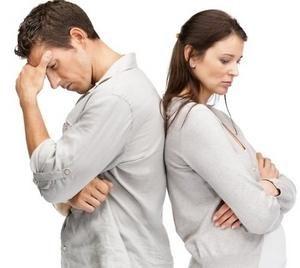 любящие люди озадачены проблемами в своих отношениях