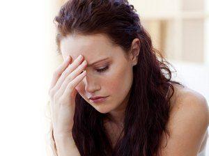 девушка расстроена