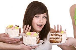 отказ от употребления в пищу тортов