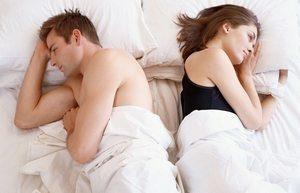 муж и жена в постели