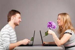 флирт в социальных сетях