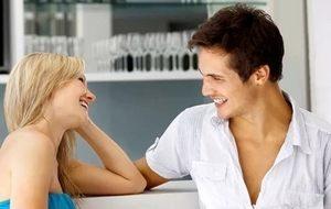 разговор девушки с молодым человеком