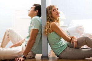 стена между парнем и девушкой
