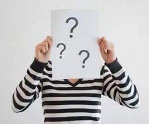 вопросы в голове