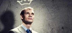 парень с короной