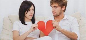 молодые люди разрывают отношения