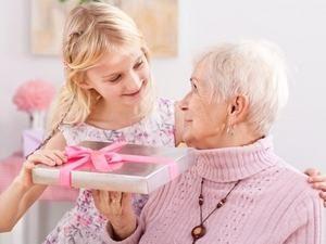 подарок от внучки
