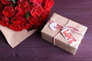 подарок и слезы