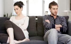 ссора в отношениях пары