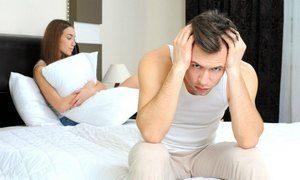 парень и девушка на постели