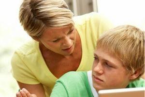 мать и тинейджер