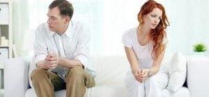 ссора между мужчиной и женщиной